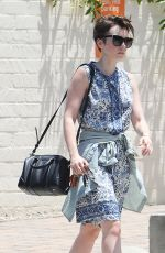 LILY COLLINS Out and About in Los Angeles 06/15/2015