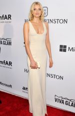 LILY DONALDSON at 2015 Amfar Inspiration Gala in New York