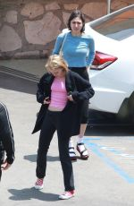 LILY-ROSE DEEP Leaves Mels Drive-in in Hollywood 05/31/2015