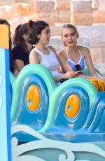 LILY-ROSE DEPP at Disneyland in Anaheim 06/13/2015