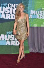 LINDSAY ELL at 2015 CMT Music Awards in Nashville
