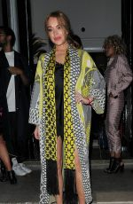 LINDSAY LOHAN at I-D and Jeremy Scott for Moschino Anniversary Party in London