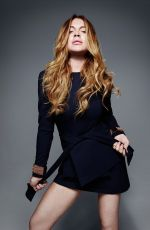 LINDSAY LOHAN - Lavish Alice Photoshoot
