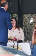 LINDSAY LOHAN Out for Lunch at Scott