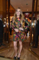 LINDSAY LOHAN Out in London 06/10/2015