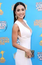 LINDSEY MORGAN at 2015 Saturn Awards in Burbank