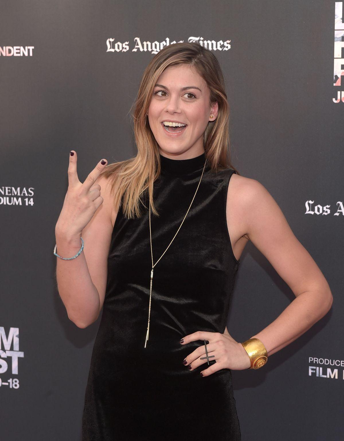 LINDSEY SHAW at Scream Premiere at 2015 LA Film Festival