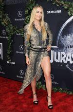 LINDSEY VONN at Jurasic World Premiere in Hollywood