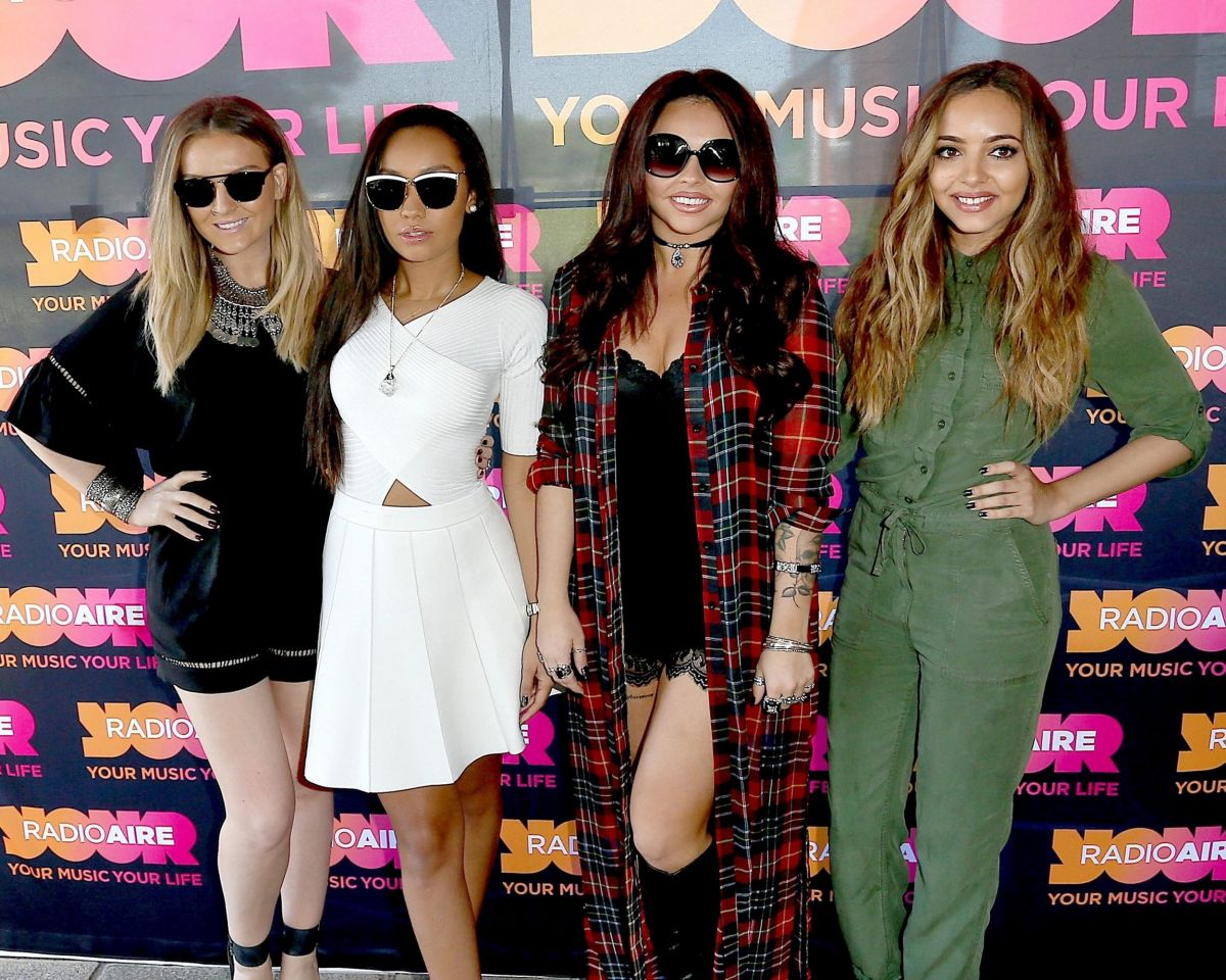 LITTLE MIX at Radio Aire in Leeds 06/11/2015