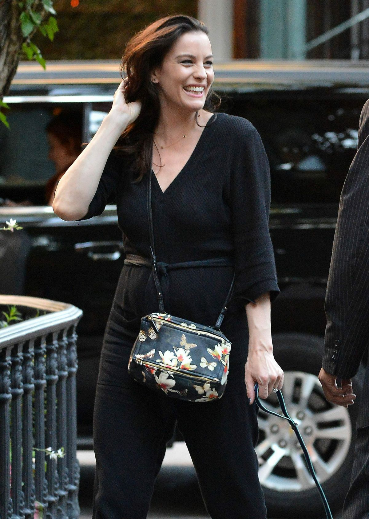 LIV TYLER Out and About in New York 06/29/2015