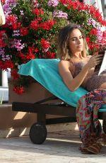 LOUISE ROE in Bikini at a Pool in Marbella 06/05/2015
