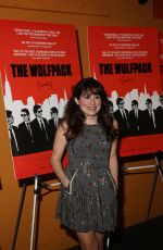 LUCY DEVITO at The Wolfpack Premiere in New York
