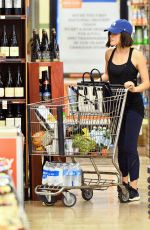 LUCY HALE Shopping at Whole Foods in Los Angeles 01/15/2015