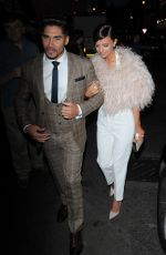 LUCY MECKLENBURGH at Tateossian and David Furnish Party in London