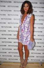 LUCY MECKLNBURGH at Her Pretty Little Thing Collection Launch in London