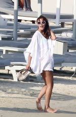 LUCY WATSON with Friends on Vacation in Mykonos 06/02/2015