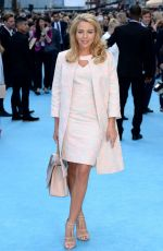 LYDIA BRIGHT at Entourage Premiere in London