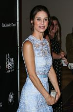 LYNDSY FONSECA at The Escort Screening at 2015 LA Film Festival