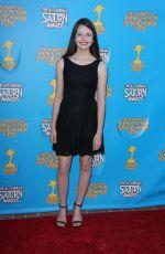 MACKENZIE FOY at 2015 Saturn Awards in Burbank