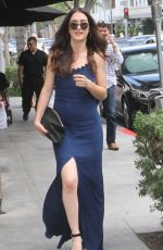MADELINE ZIMA Out for Lunch in Beverly Hills 06/27/2015