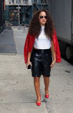 MADISON PETTIS Out and About in New York 06/09/2015