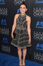 MAE WHITMAN at 5th Annual Critics Choice Television Awards in Beverly Hills