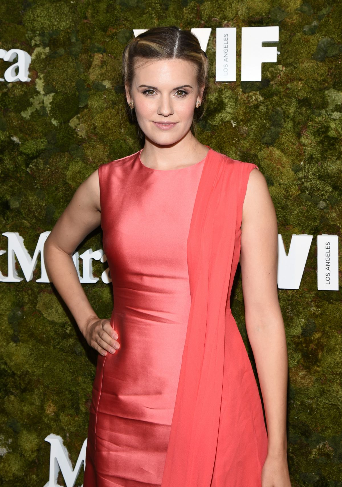 MAGGIE GRACE at Max Mara Women in Film Face of the Future Award in Hollywood