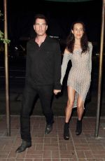 MAGGIE Q Night Out in Hollywood 06/20/2015