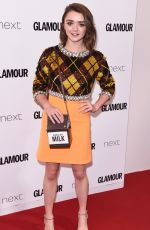 MAISIE WILLIAMS at Glamour Women of the Year Awards in London