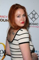 MAITLAND WARD at Viva Glam Magazine Celebrity Issue Party in Los Angeles