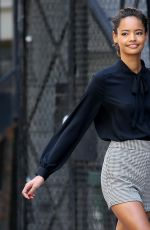 MALAIKA FIRTH on the Set of Express Campaign Photoshoot in New York 06/10/2015