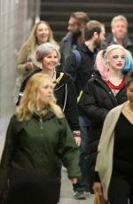MARGOT ROBBIE on the Set of Suicide Squad in Toronto 06/01/2015