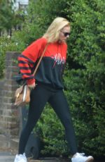 MARGOT ROBBIE Out and About in London 06/26/2015