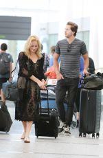 MARGOT ROBBIR at Pearson International Airport in Toronto 06/29/2015