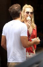 MARGOT ROBBIR Out for Ice Cram in Toronto 06/11/2015
