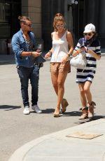MARIA MENOUNOS at Fast & Furious Supercharged Ride at Universal Studios