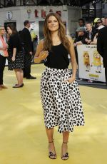 MARIA MENOUNOS at Minions Premiere in London