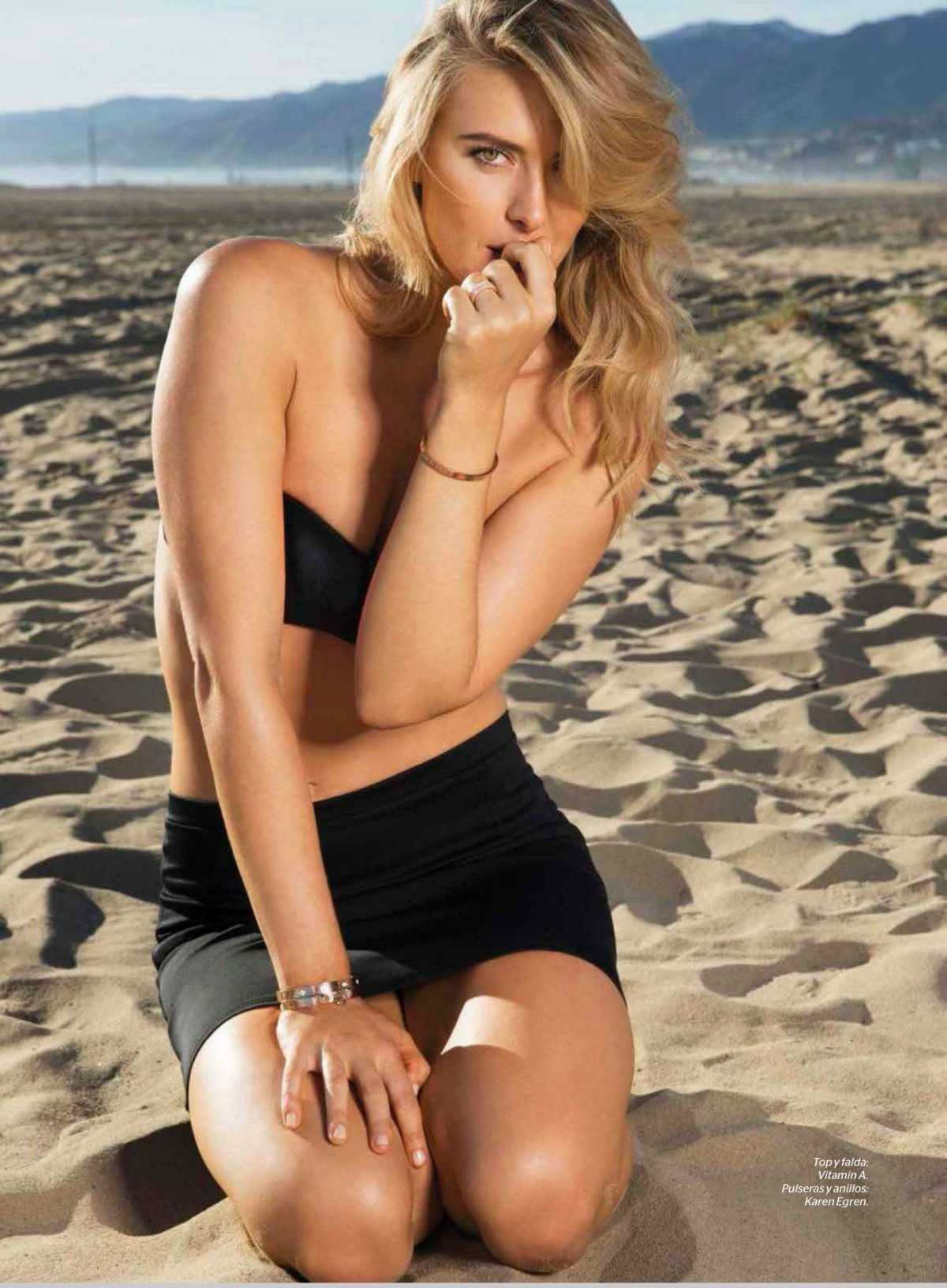 MARIA SHARAPOVA in Esquire Magazine, Mexico June 2015 Issue