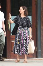 MAYA RUDOLPF Leaves Her Hotel in New York 06/23/2015