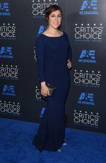 MAYIM BIALIK at 5th Annual Critics Choice Television Awards in Beverly Hills