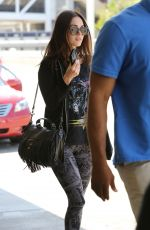 MEGAN FOX Arrives at Los Angeles International Airport 06/21/2015