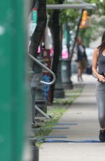 MEGAN FOX at Teenage Mutant Ninja Turtles 2 Movie Set in New York 06/29/2015