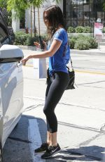 MEGAN FOX in Tights Out and About in West Hollywood 06/08/2015