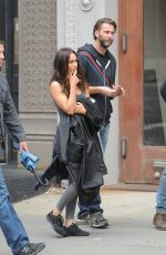 MEGAN FOX on the Set of Teenage Mutant Ninja Turtles 2 in New York 06/27/2015