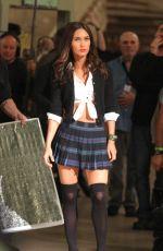 MEGAN FOX on the Set of TMNT 2 in New York 06/03/2015