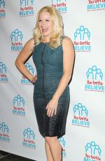 MEGAN HILTY at Voices for the Voiceless: Stars for Foster Kids in New York