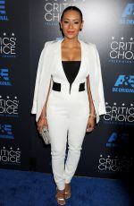 MELANIE BROWN at 5th Annual Critics Choice Television Awards in Beverly Hills