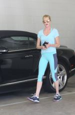 MELANIE GRIFFITH Arrives at a Gym in Beverly Hills 06/25/2015