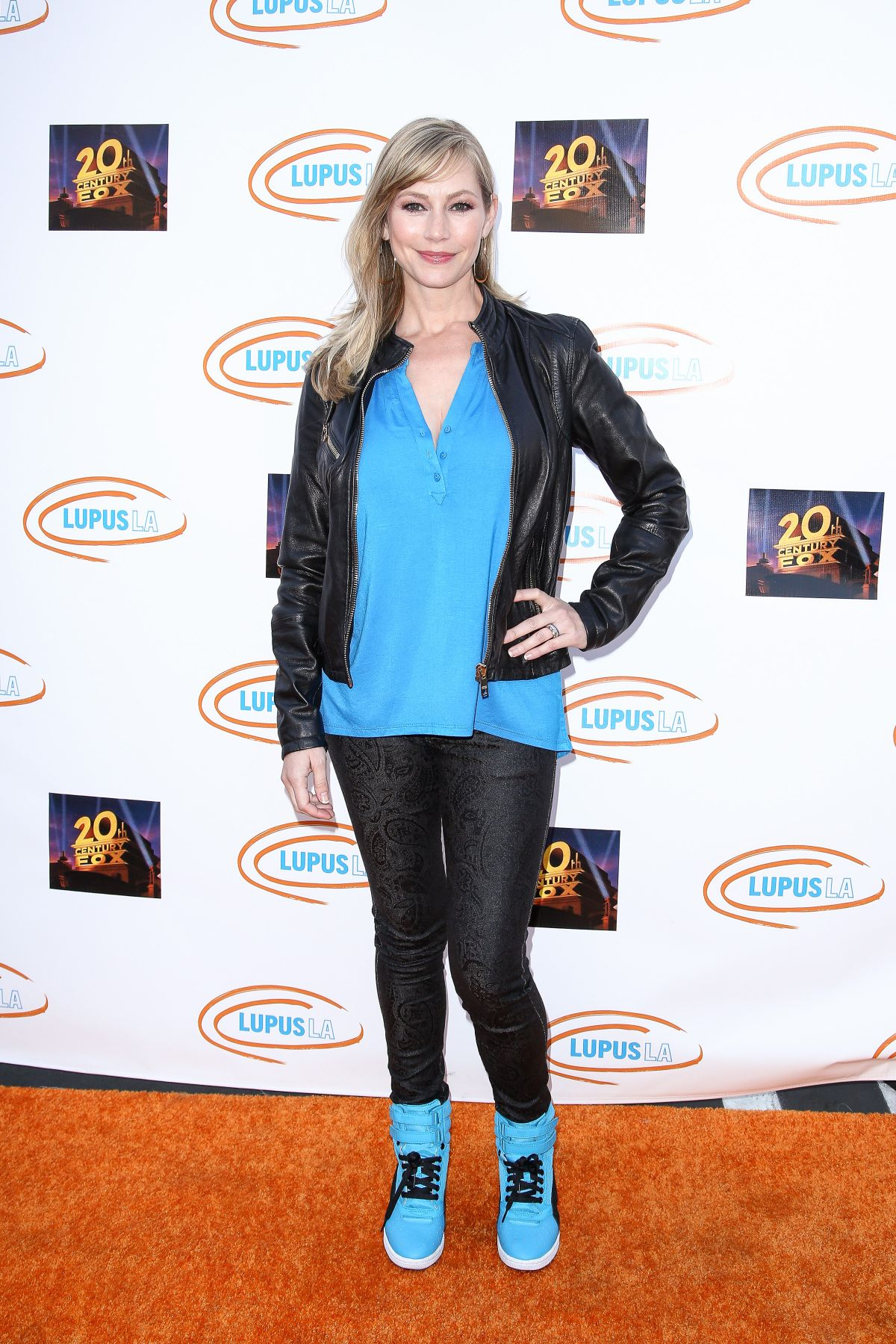 MEREDITH MONROE at Lupus LA's Orange Ball and Night of Superheroes