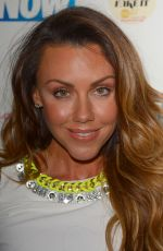 MICHELLE HEATON at Now Smart Girls Fake it Campaign with Superdrug Solait Launch Party in London